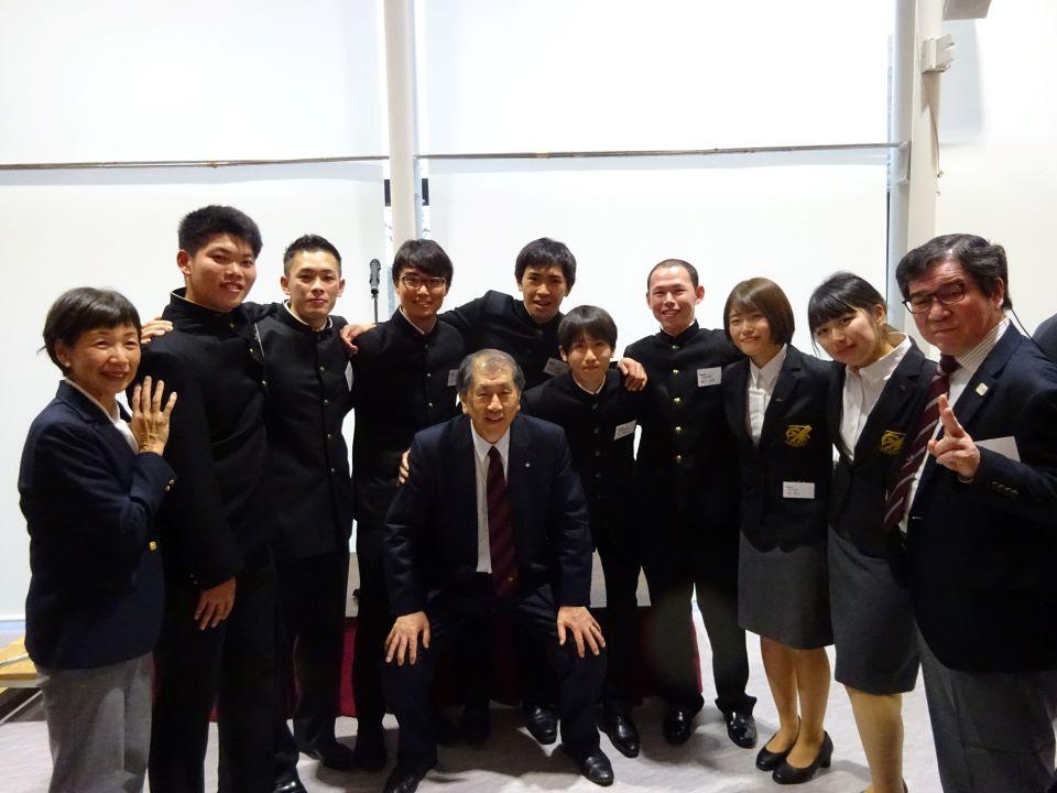 総長招待 早慶戦優勝部表彰式・祝勝会に出席しました!