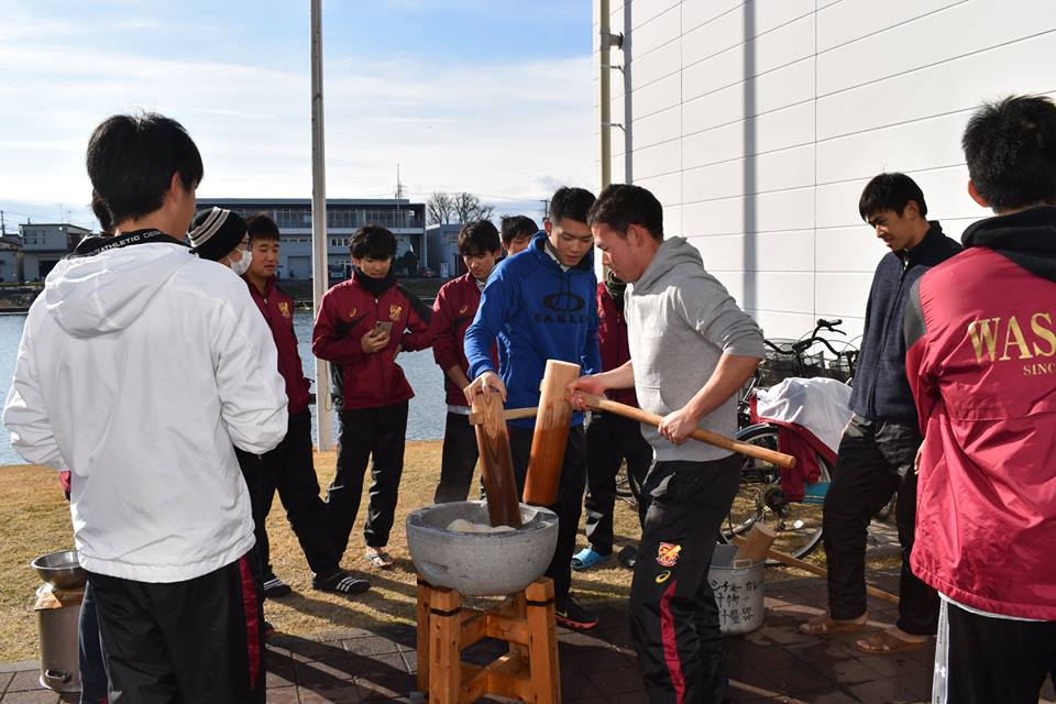 新年のご挨拶/初漕ぎ・進水式開催